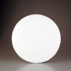 CE830005/0061- styropor / piepschuim schijf rond middel 23x6cm