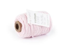 CE501043/0210- 50 meter Vivant katoen koord 2mm roze