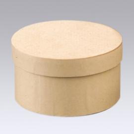 8735 747- 6 stuks kartondoos natuur 14.6x10cm