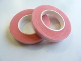 1 rol rol ouderwetse topkwaliteit bloemencrepeband rose van 13mm breed