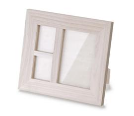 KN8735 406- 2 stuks houten fotolijstjes 18x20cm