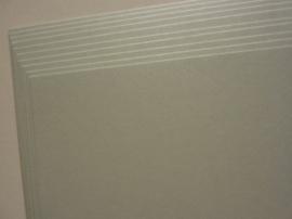 1998- 10 vellen kaartkarton A4 parelmoer grijs