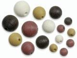 6023 158- 20 stuks houten kralen bruin tinten mix