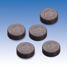 8433 976- 10 stuks sterke magneten van 14mm doorsnee en 5mm dik