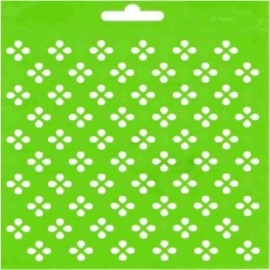 JOY6002/0808- Joy! crafts embossing achtergrondstencil poly-besa 14x14cm patroon