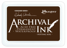 CE306014/8979- Ranger archival ink pad - potting soil