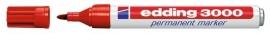 CE393000/0002- Edding-3000 permanent marker met punt van 1.5-3mm rood