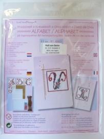 003008- Leane borduur/kruissteek pakket no.1 OPRUIMING