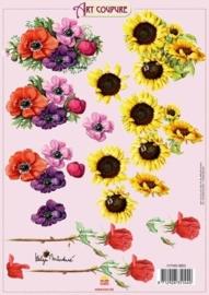 kn/307- A4 knipvel Art Coupure 117145/4002