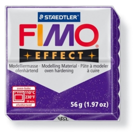 CE610303/1602- fimo effect 56gr glitter paars -602