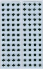 CE802603/1932- 104 stuks zelfklevende wiebeloogjes van 8mm