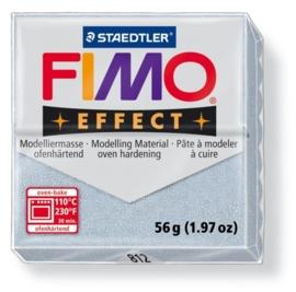 CE610303/1812- fimo effect 56gr glitter zilver - 812