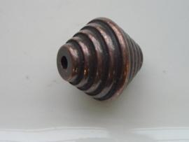 tol geribbeld bronskleur 117465/1636