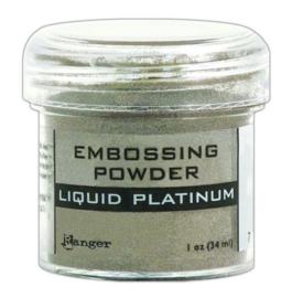 CE306320/7484- Ranger embossing powder 34ml - liquid platinum