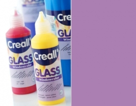CE301800/0525- Creall Glass - glasstickerverf - window color - 80ML lila