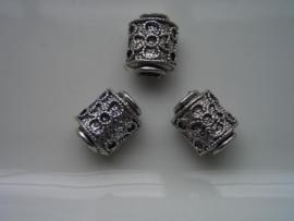 3 x metalen kralen 12028-0025