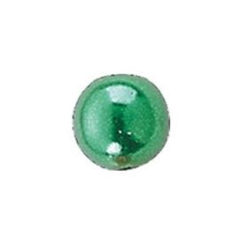 25 x ronde waxparels in een doosje 8mm groen - 6069 452