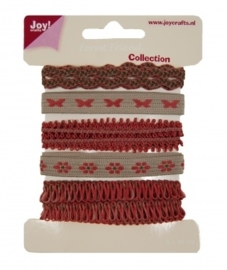 JOY6300/0342- 5x90cm Joy! crafts ribbons forest friend collection 2 - set 3