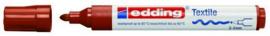 CE394500/0007- edding-4500 textielmarker 2-3mm punt bruin