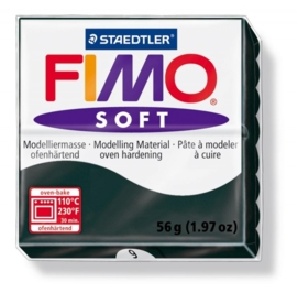CE610302/0009- fimo soft 56gr zwart -9