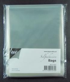 JOY8001/0364- 100 stuks kaartenzakjes zelfklevend 110x110mm
