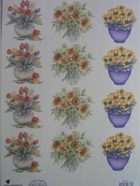 kn/409- A4 knipvel AANBIEDING wecon 01 bloemen