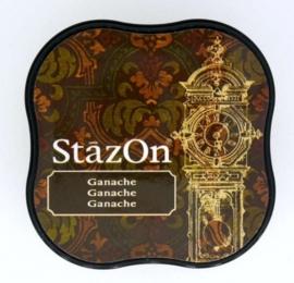 CE132021/4044- Stazon inktkussen midi ganache SZ-MID-44