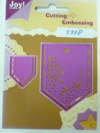 0002338- Joy0061- stencil broekzakken 7x5cm (de grootste) OPRUIMING