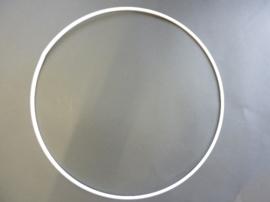 10 x wit gelakte metalen dichte ring van 40cm doorsnee - 6770 401