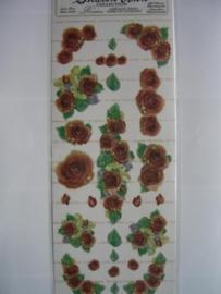 5094- rozen 30x13cm Sharon Ann collection