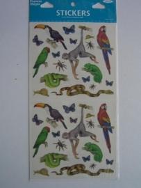 5055- dieren - Frances Meyer stickers