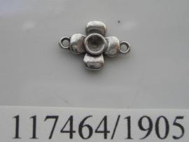 metalen ornament met 2 ogen 117464/1905KA