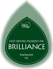 132019/1064- brilliance stempelkussen dew drops pearl ivy 3.5x5cm