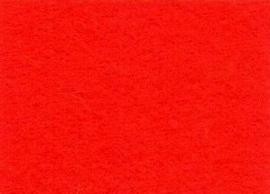 CE800300/0040- 10 vellen viltlapjes viscose van 20x30cm en 1mm dik rood