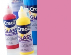 CE301800/0522- Creall Glass - glasstickerverf - window color - 80ML roze