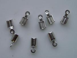 8 x veterklemmen 3mm staal 11808/1561