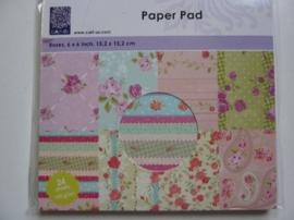 005968- paperpad 15.2x15.2cm OPRUIMING