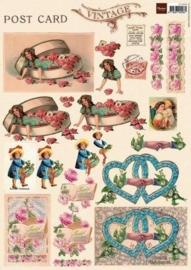 kn/1772- A4 knipvel Marianne D vintage nr.3 - 117148/9503