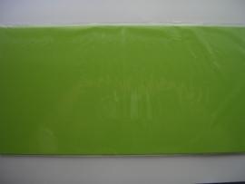 08154- 5 x luxe vierkanten kaarten linnenstructuur 13.5x13.5cm appelgroen SPECIALE AANBIEDING