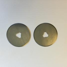 CE860500/1132- 2 stuks reserve mesjes voor rotary cutter mes van 28mm