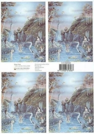 kn/1545- A4 knipvel Fairyland magic pool - 117140/2003