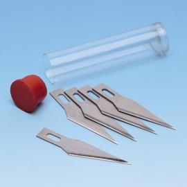 8053 057- Knorr Prandell 5 stuks reserve mesje voor ontwerpmes