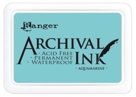 180002/0324- Ranger Archival ink coussin aquamarine