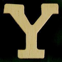 8735 632- 4cm houten letter Y