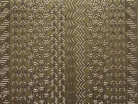st 460HT- 9 soorten randjes goud