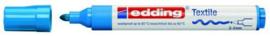 CE394500/0010- edding-4500 textielmarker 2-3mm punt lichtblauw