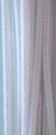 CE800700/7101- 20 stuks chenille draden van 30cm lang en 6mm dik wit