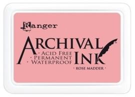 180002/0347- Ranger Archival ink coussin madder