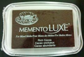 CE132020/5800- Memento Luxe inktkussen rich cocoa