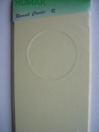 000135- 3 x kabinetkaarten + enveloppen 10.5x21.5cm